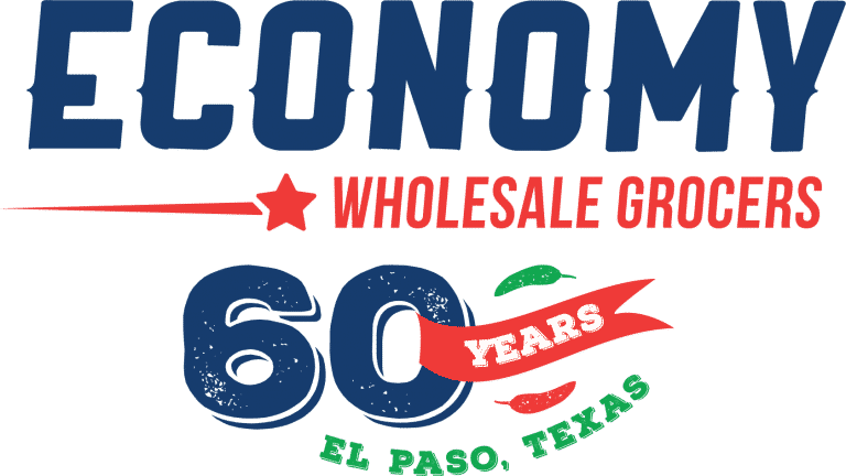 Logo for Economy Wholesale Grocers in El Paso, TX