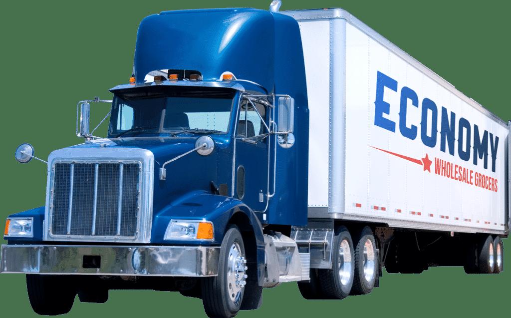 Economy Wholesale Grocers Semi Truck